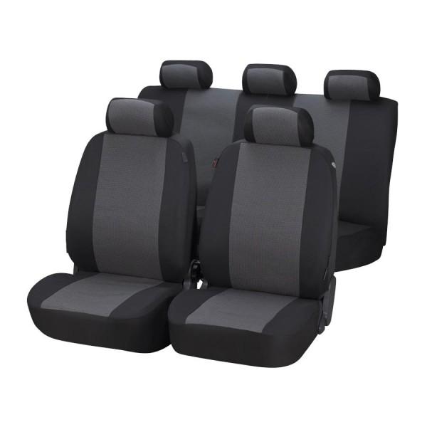 Autopoťah Pineto 3ks čierny/sivý Premium WALSER
