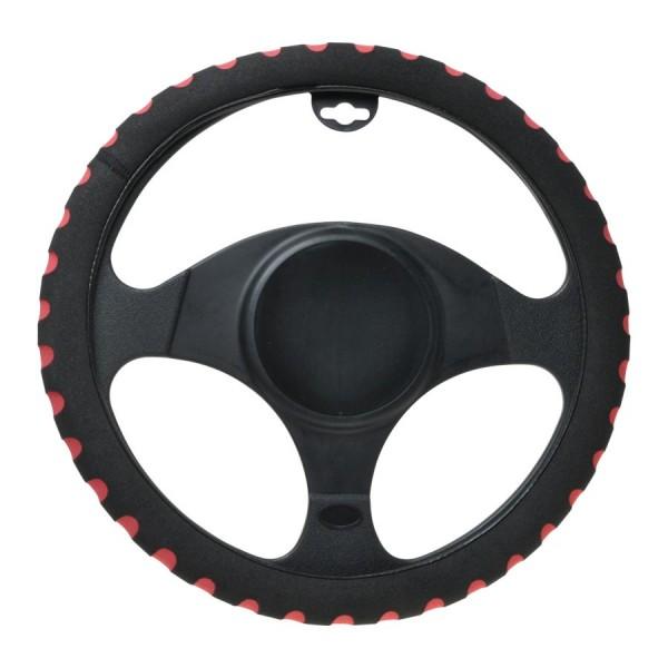 Poťah volantu šport červený 37-39cm