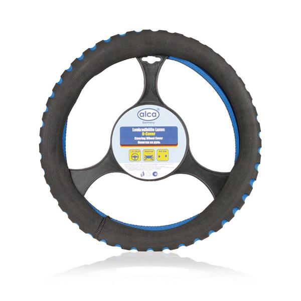 Poťah volantu šport modrý ALCA 37-39cm