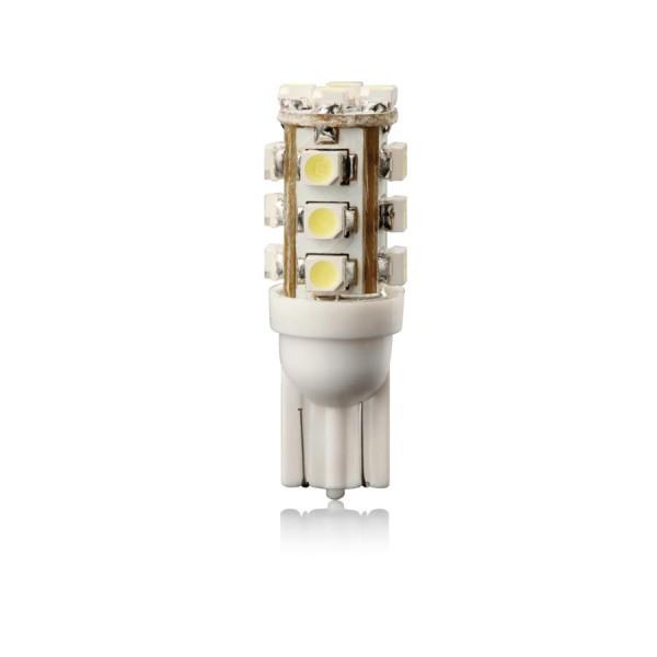 Žiarovka T10 LED WHITE 12V 5W W5W VECTA