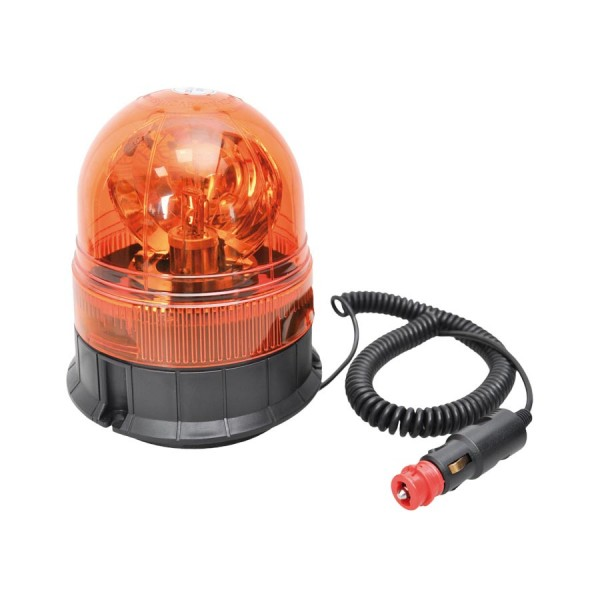 Viacfunkčné výstražné svetlo H1 12V oranžové magnetické