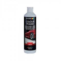 Farebná leštička červená 500ml Motip