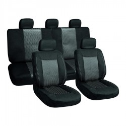 Autopoťah 3ks čierna/sivá