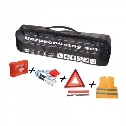 Bezpečnostný set, taška čierna