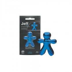 JEFF modrý chrome Lotus Flowers