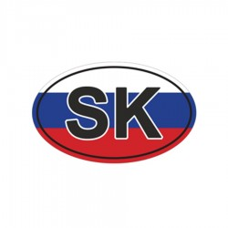 Samolepka SK farebná