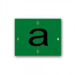 Tabuľa TI-R/A zelená 400x500