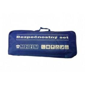 Bezpečnostný set, taška modrá