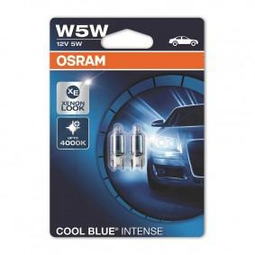 OSRAM 12V 5W W5W W2.1x9.5d COOL BLUE blister