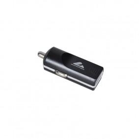 Nabíjačka USB 1A 12/24V ČIERNA