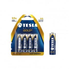TESLA AA GOLD+ Alkaline 4 ks blister