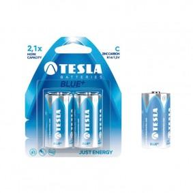 TESLA C BLUE+ Zinc Carbon 2ks blister