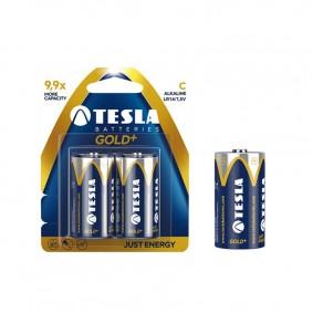 TESLA C GOLD+ Alkaline 2ks blister