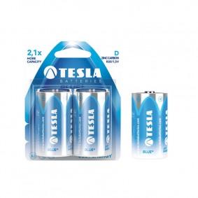 TESLA D BLUE+ Zinc Carbon 2ks blister
