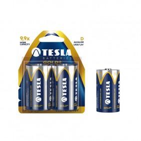 TESLA D GOLD+ Alkaline 2ks blister