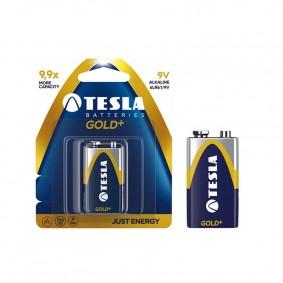 TESLA 9V GOLD+ Alkaline 1ks blister