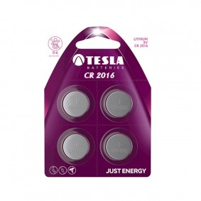 TESLA CR2016 Lithium 4ks blister