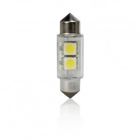 Žiarovka T11 39mm FESTOON 2LED-5050SMD Bister Card 2ks