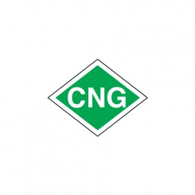 Samolepka CNG