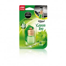 Osviežovač WOOD Green tea AROMA