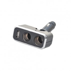 Rozdvojka s USB sklopná