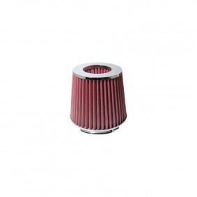 Vzduchový filter chróm s 3 adaptérmi
