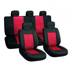 Autopoťah 3ks čierny/červený