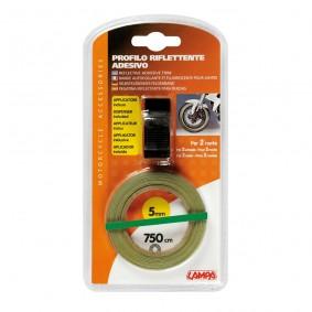Reflexná páska na kolesá zelená