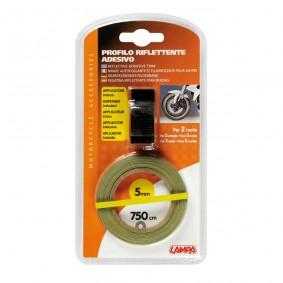 Reflexná páska na kolesá žltá