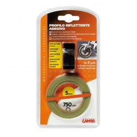 Reflexná páska na kolesá oranžová