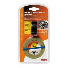 Reflexná páska na kolesá modrá
