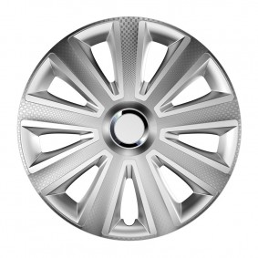 Puklice Aviator carbon RC 14 silver VERSACO