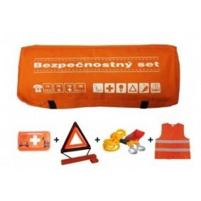 Bezpečnostný set, taška oranžová