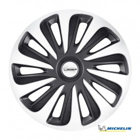 Puklice 14 CALIBER silver black MICHELIN