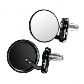 Spätné zrkadlo DERNIER, čierne, pár