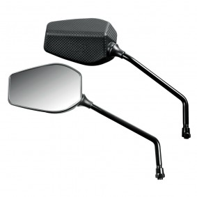 Spätné zrkadlo FENDER, čierne, pár