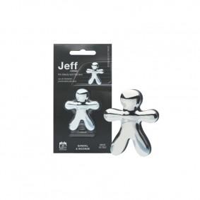 JEFF strieborný chrome Sandal & Incense