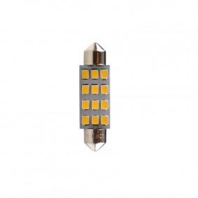 LED C5W 41mm 12xSMD3528 White