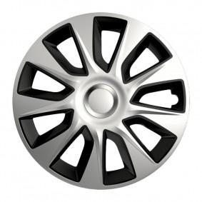 Puklice Stratos DC silver&black 17