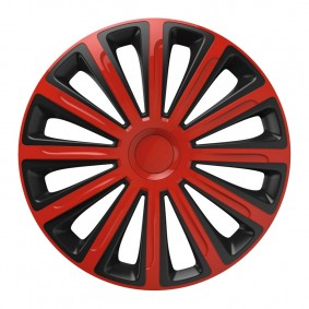 Puklice Trend red&black 15 VERSACO