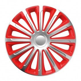 Puklice Trend silver&red 15 VERSACO