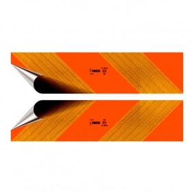 Tabuľa reflexná - ťahač 2ks samolepka