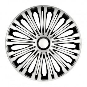 Puklice Volante silver&black 15 ARGO